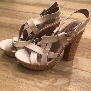 {Vince Camuto} Platform Sandal Heels